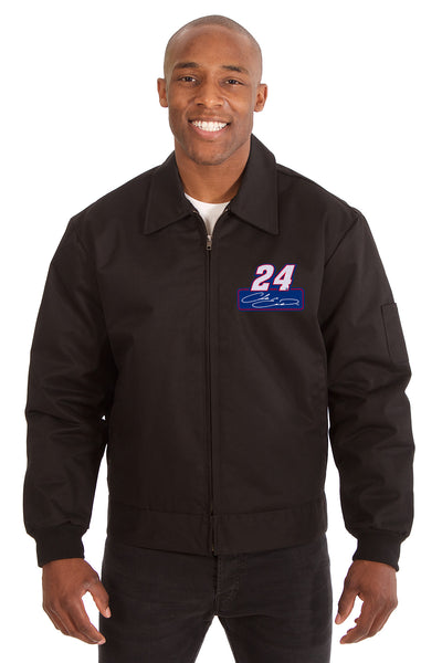 Chase Elliott Cotton Twill Workwear Jacket - Black