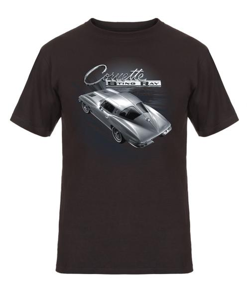 Corvette Stingray T-Shirt - Gray - JH Design