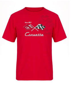Corvette C5 T-Shirt - Red - JH Design