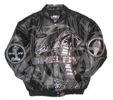Shelby Limited Edition Handmade Lambskin Leather Jacket - Black - JH Design