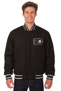 Philadelphia Flyers Reversible Wool Jacket - Black