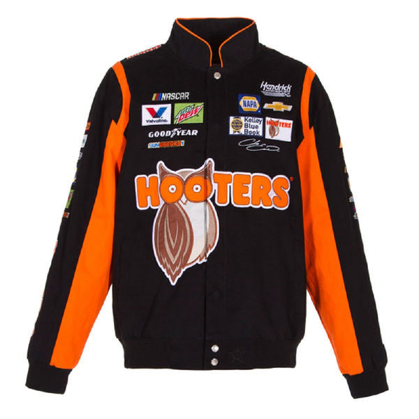Chase Elliott Hooters Twill Jacket - Black