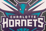 Charlotte Hornets Full Leather Jacket - Black - JH Design