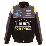 2018 Jimmie Johnson Lowe's Nascar Jacket - Black