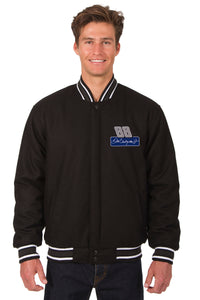 Dale Earnhardt Jr. Wool Varsity Jacket - Black - JH Design