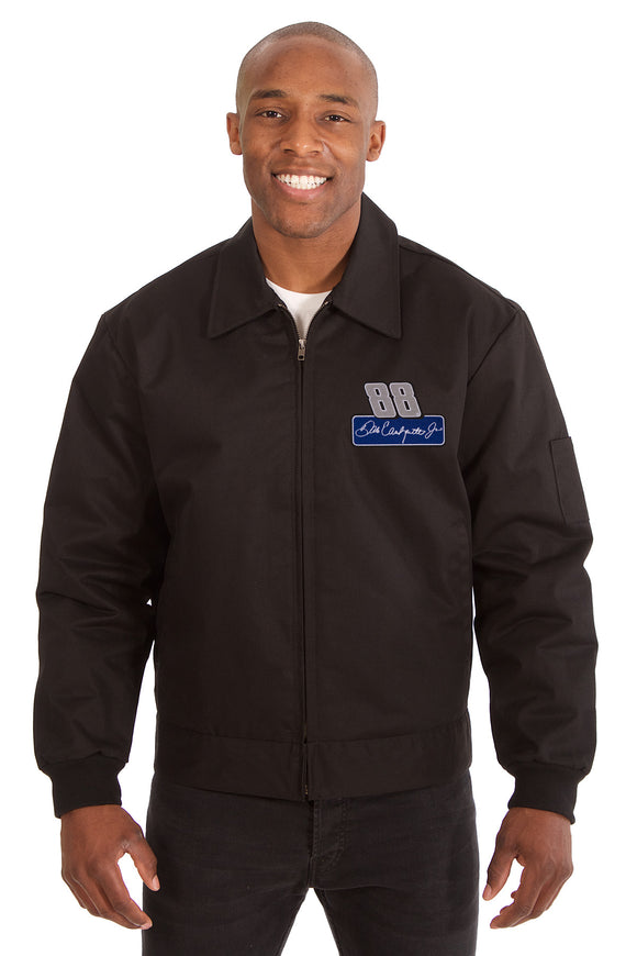 Dale Earnhardt Jr. Cotton Twill Workwear Jacket - Black - JH Design