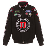2018 Kevin Harvick  Jimmy John's Nascar Twill  Jacket - Black