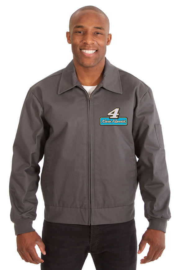 Kevin Harvick Cotton Twill Workwear Jacket - Charcoal