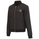 Orlando Magic JH Design Reversible Women Fleece Jacket - Black - JH Design