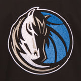 Dallas Mavericks Cotton Twill Workwear Jacket - Black - JH Design