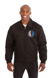 Dallas Mavericks Cotton Twill Workwear Jacket - Black