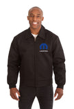 Mopar Cotton Twill Workwear Jacket - Black - JH Design