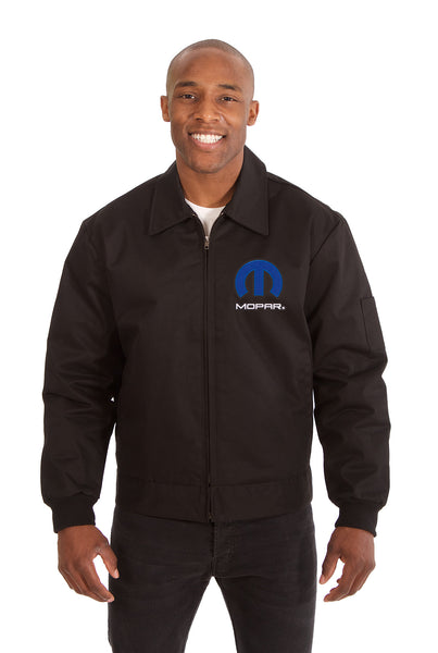Mopar Cotton Twill Workwear Jacket - Black