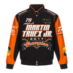 Martin Truex Jr 2017 Monster Energy  Cup Series Champion Jacket - Black