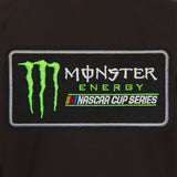 Monster Energy NASCAR Cup Series Cotton Twill Workwear Jacket - Black - JH Design