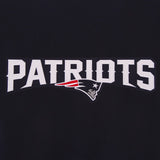 New England Patriots Reversible Wool Jacket - Navy - JH Design