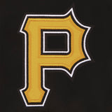 Pittsburgh Pirates Reversible Wool Jacket - Black - JH Design