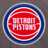 Detroit Pistons Cotton Twill Workwear Jacket - Charcoal
