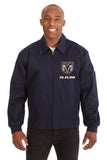 Dodge Ram Cotton Twill Workwear Jacket - Navy - JH Design