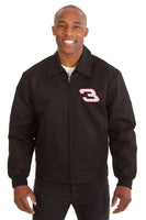 Dale Earnhardt Cotton Twill Workwear Jacket - Black