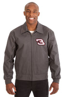 Dale Earnhardt Cotton Twill Workwear Jacket - Charcoal