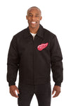 Detroit Red Wings Cotton Twill Workwear Jacket - Black