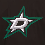 Dallas Stars Cotton Twill Workwear Jacket - Black - JH Design