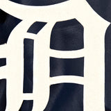 Detroit Tigers Full Leather Jacket - Navy - JH Design