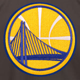 Golden State Warriors Cotton Twill Workwear Jacket - Charcoal