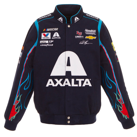 2018 William Byron Axalta Nascar Jacket - Black - JH Design