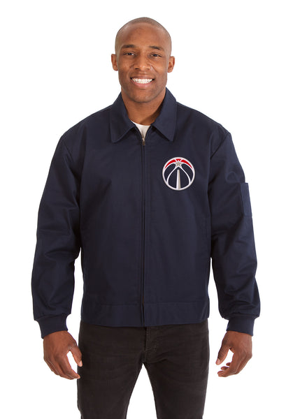 Washington Wizards Cotton Twill Workwear Jacket - Navy