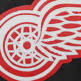 Detroit Red Wings Embroidered  All Wool Jacket - Black - JH Design