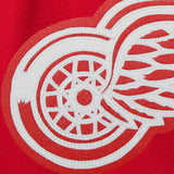 Detroit Red Wings Embroidered  All Wool Jacket - Red - JH Design