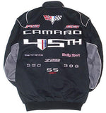 Camaro Racing 45th Anniversary Twill Jacket - Black