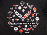 Corvette C7 T-Shirt - Black