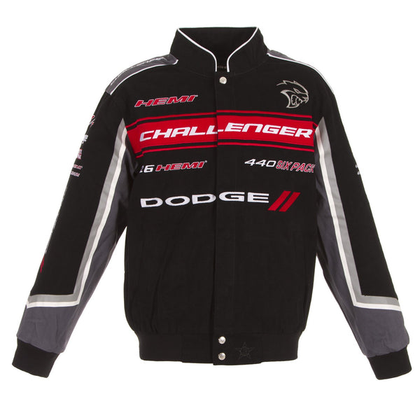 Dodge Challenger Twill Jacket - Black