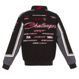 Dodge Challenger Twill Jacket - Black - JH Design