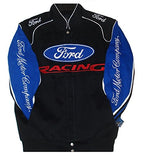 Ford Racing Cotton Jacket - Black/Royal