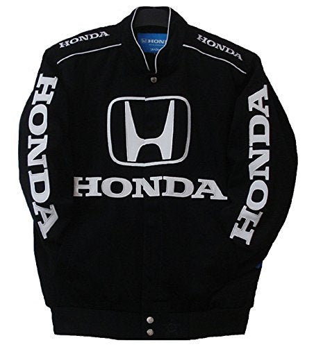 Honda Racing Cotton Jacket - Black