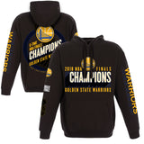 Golden State Warriors JH Design 2018 NBA Finals Champions Pullover Hoodie – Black - JH Design