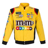 Kyle Busch M&M's Uniform Twill Jacket - Yellow - JH Design