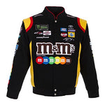 Kyle Busch M&M's  Twill Jacket - Black