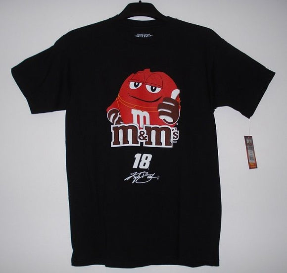 Kyle Busch M&M's T-Shirt - Black