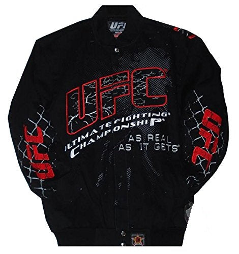 Ufc Ultimate Fighting Twill Jacket - Black