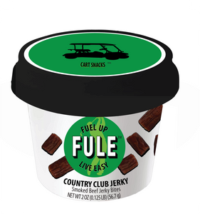 COUNTRY CLUB JERKY | Smoked Beef Jerky Bites (24 cups) | Wholesale
