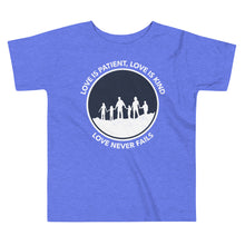 Love Never Fails Toddler Tee