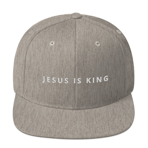 Jesus Is King Snapback