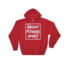 Not By Might Hoodie