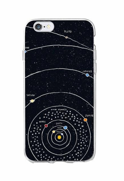 Outer Space Planet Constellation iPhone/Samsung Case