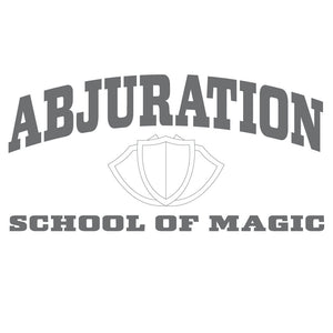Abjuration School of Magic T-Shirt